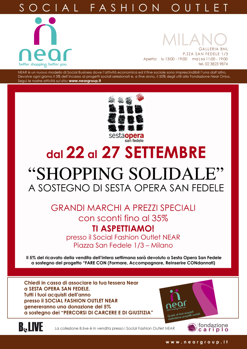 Shopping solidale\